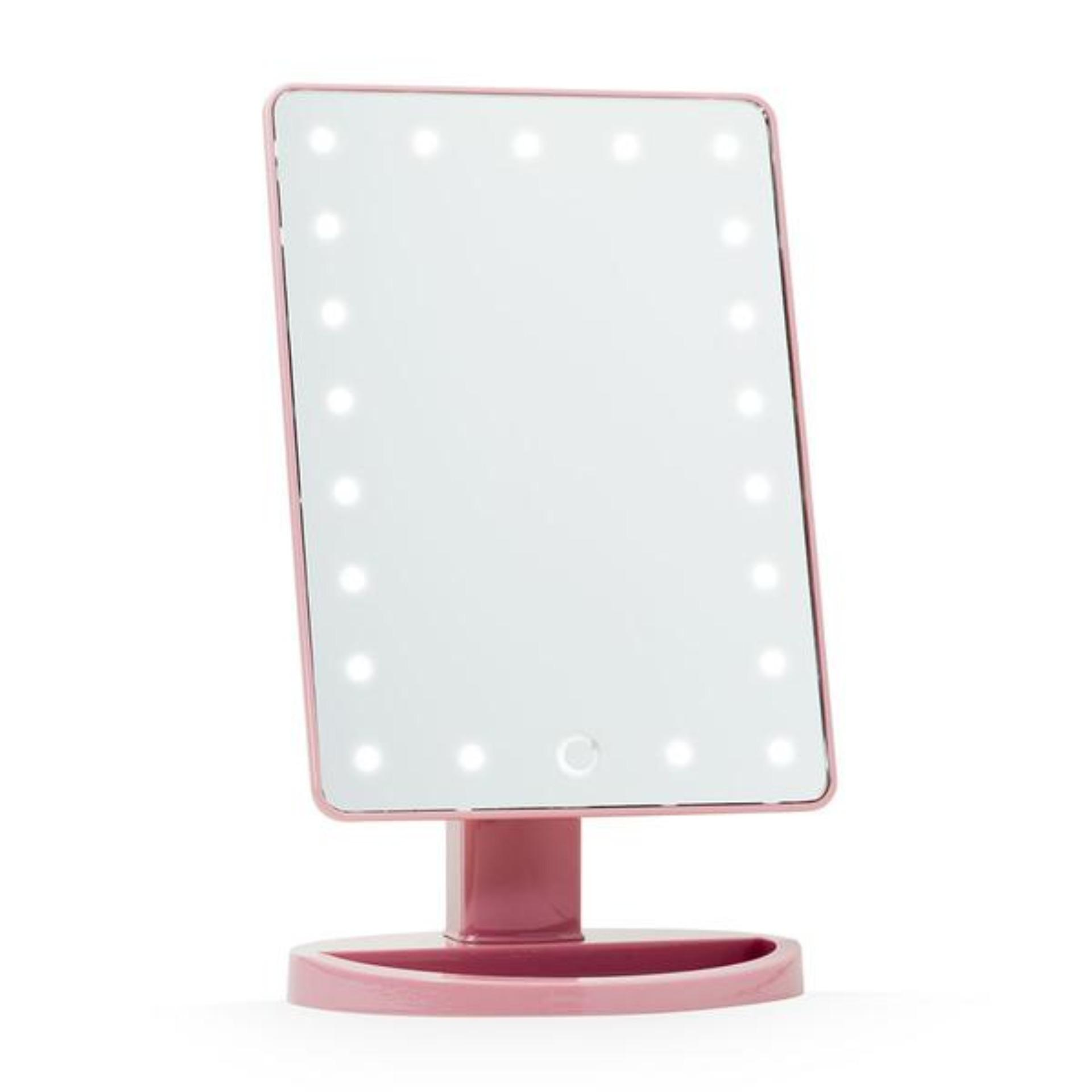 LED Make Up Mirror (Pink) Philippines
