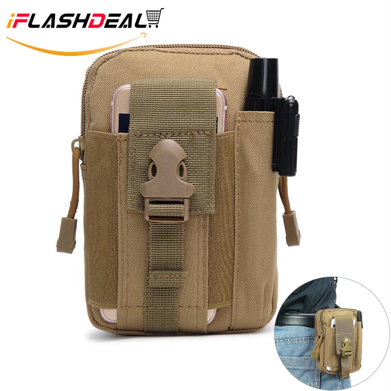aaa04f09881f iFlashDeal Tactical Molle Pouch Compact EDC Utility Gadget Belt Waist Bag  Pack Pocket Organizer with Cell