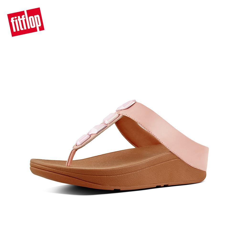 FitFlop Women s Sandals K05 ROKA TOE-THONG SANDALS - LEATHER DRESS  lightweight comfort fashion New 29433a4949a6