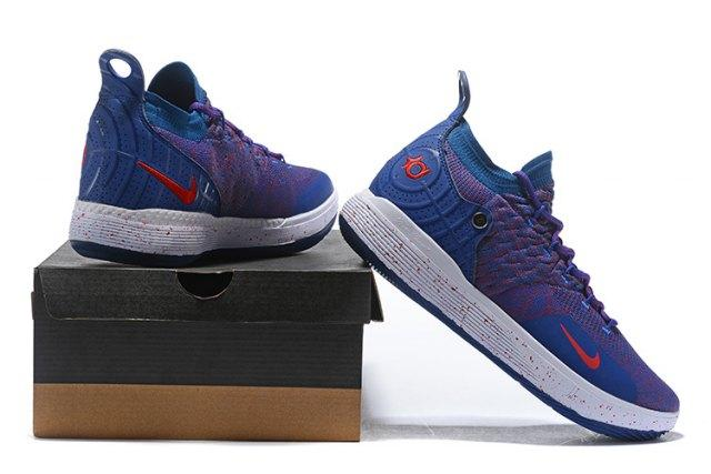 7813da344a56 Hot Selling Nike Zoom KD 11 EP All Star Kevin Durant Blue Purple Men s  Basketball Shoes