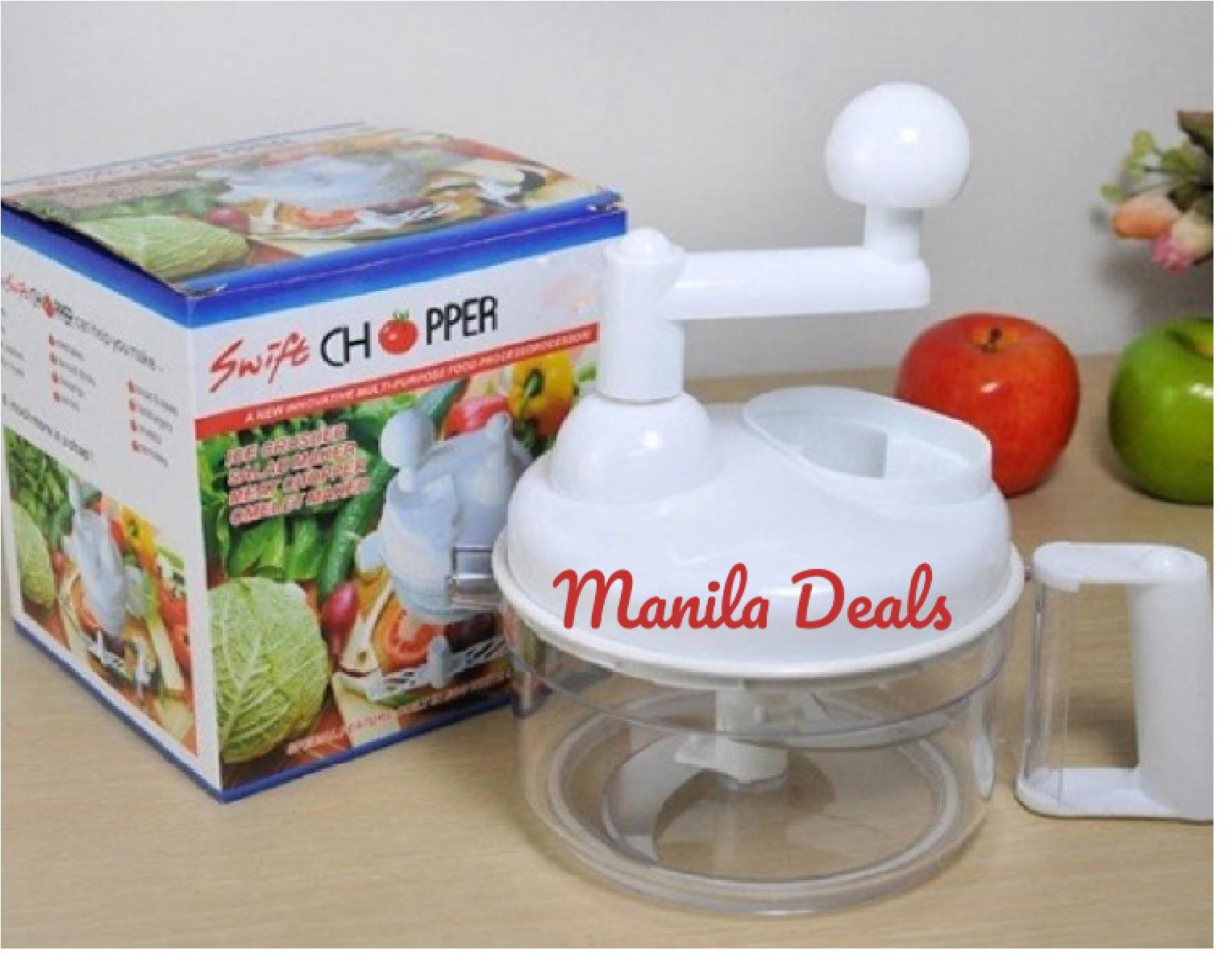 Manila Deals Swift Chopper ICE CRUSHER SALAD MAKER MEAT CHOPPER OMELET MAKER Salsa Master Salsa Maker