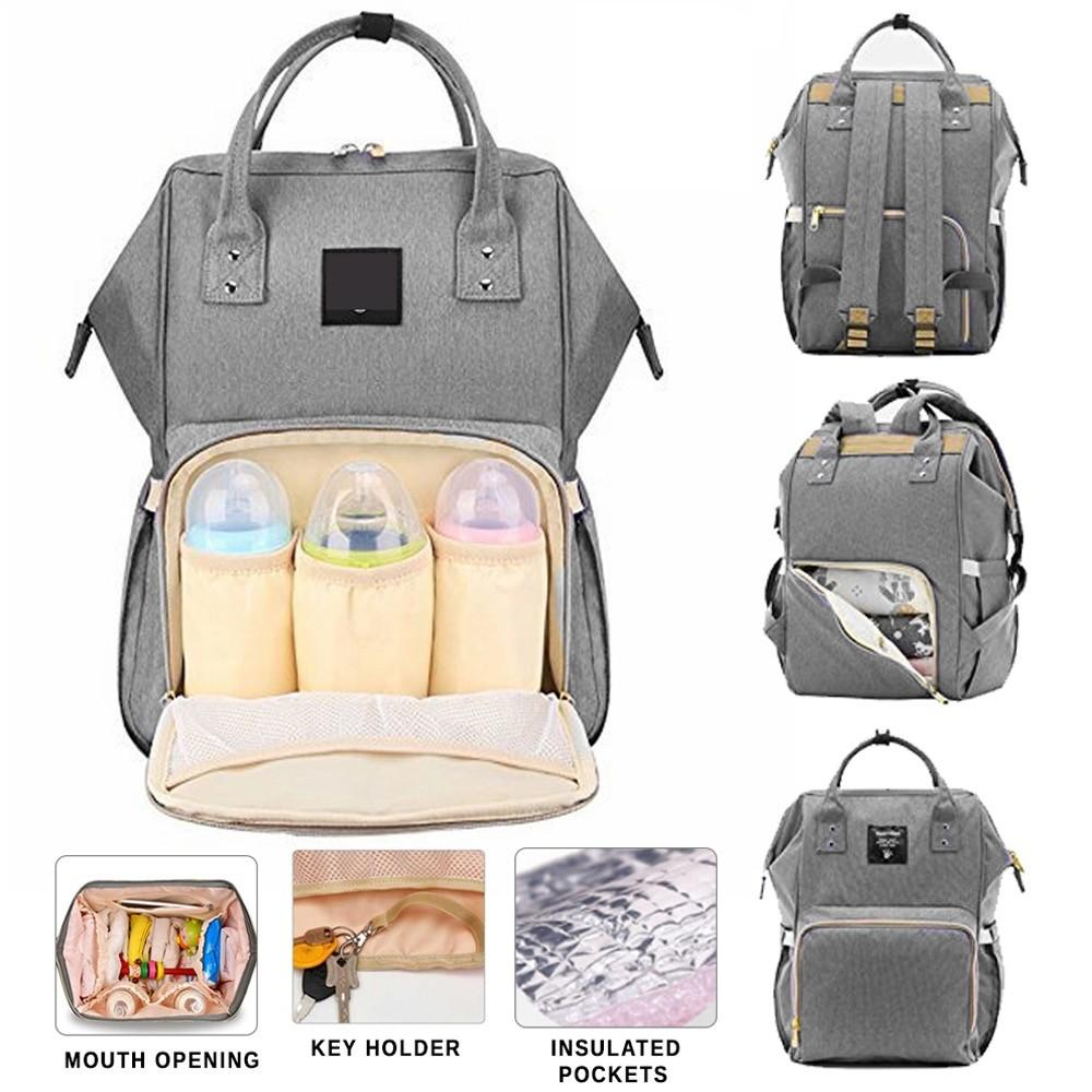 Diaper Bag Mummy Bag Nappy Bag Mommy Bag Baby Bag Diaper Backpack Big  Capacity Diaper Backpack e9e480a51ace3
