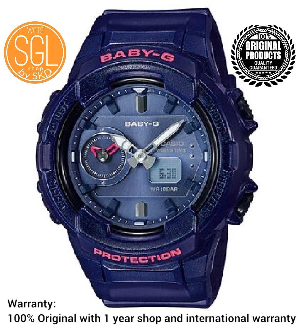 Casio Baby-G Standard Analog-Digital DARK BLUE Watch BGA230S-2A SGL WOTS