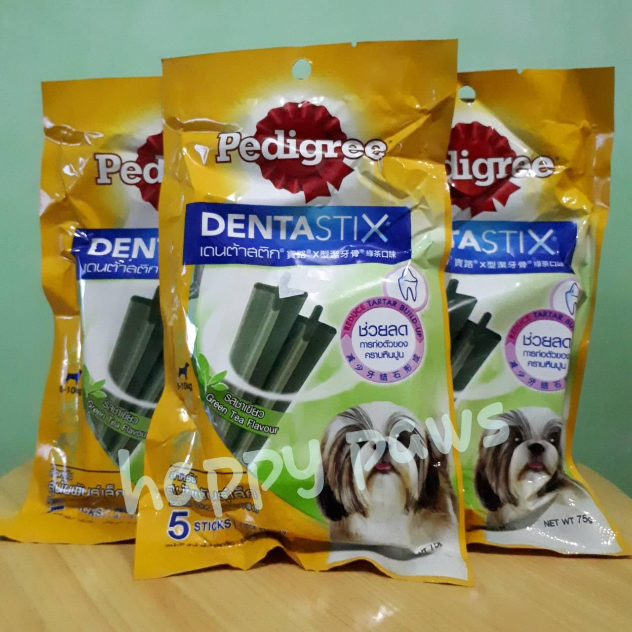 Pedigree Denta Stix Green Tea 5s By Happy Paws Complete Pet Care.