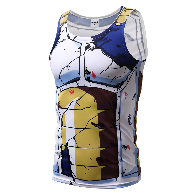 c8b42cbfb68 Sports Men 3D Tshirt Son Goku Vegeta Super Saiyan Ultra Instinct T Shirt  Japanese Anime Cartoon