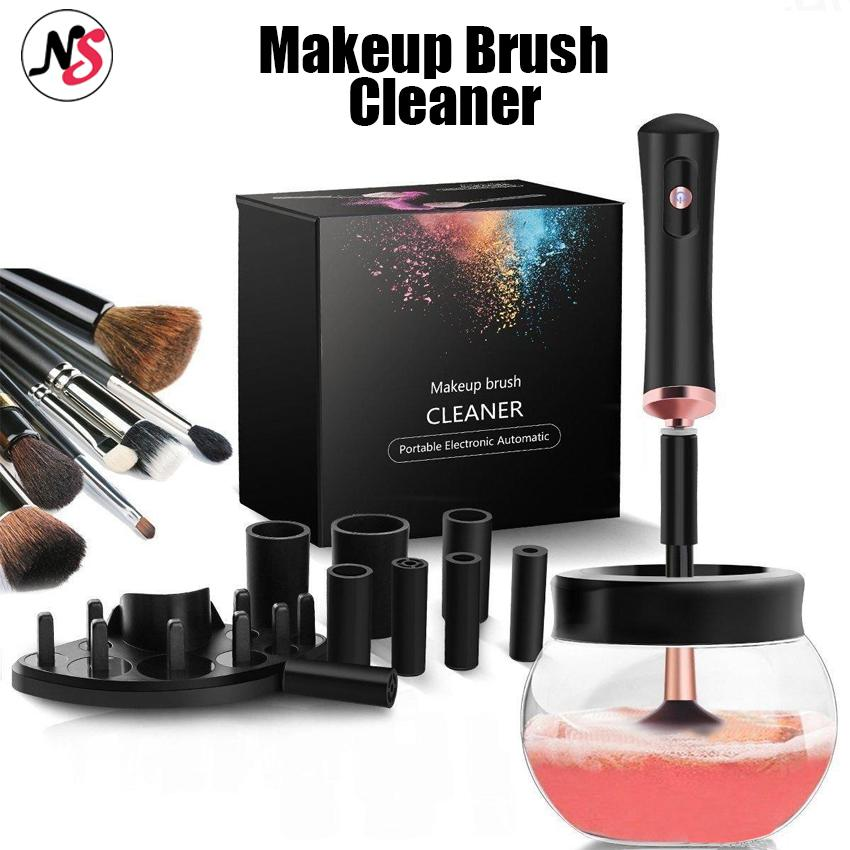 NS5-Makeup Brush Cleaner Convenient Silicone Make up Brushes Cleanser Cleaning Tool Machine Philippines