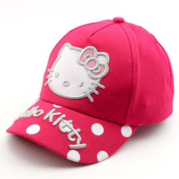 bf8c01d1ea1d9 China. koepope HK Kitty Korean Kids Cap Baby Girl Hat Cut Pink OOTD
