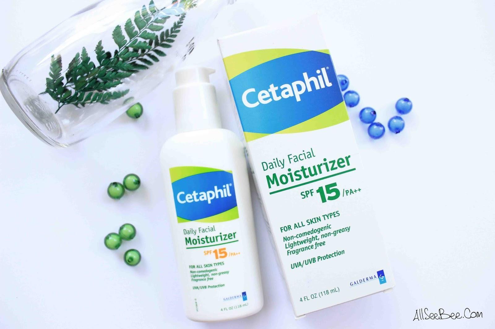 Cetaphil Daily Face Moisturizer SPF15/PA++ USA Formula