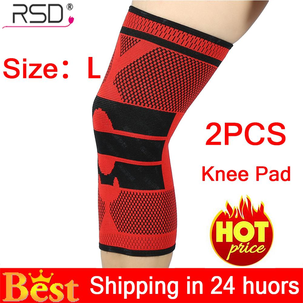 【Limited Time Promotions】2PCS Sport Knee Sleeve Guard Wrap Support Pad Tone Up Basketball