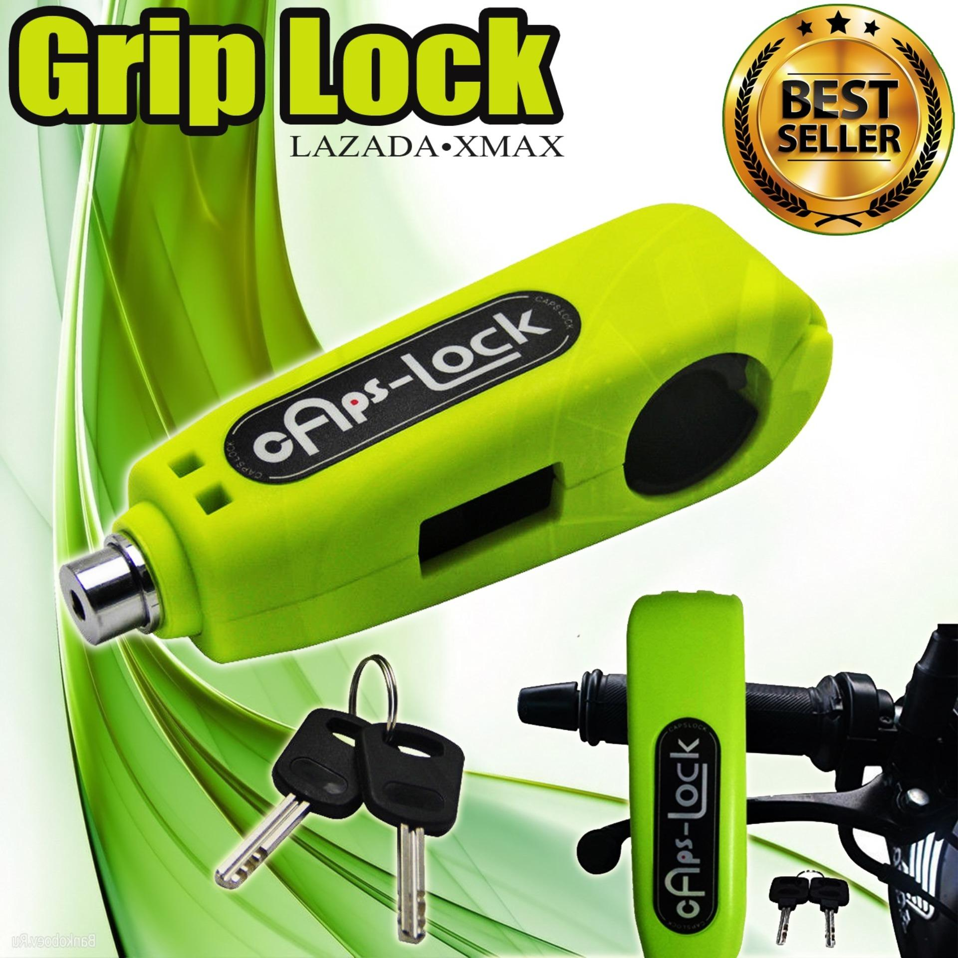 Security Grip CapsLock for Motorcycle Anti Theft Lock (color may vary)