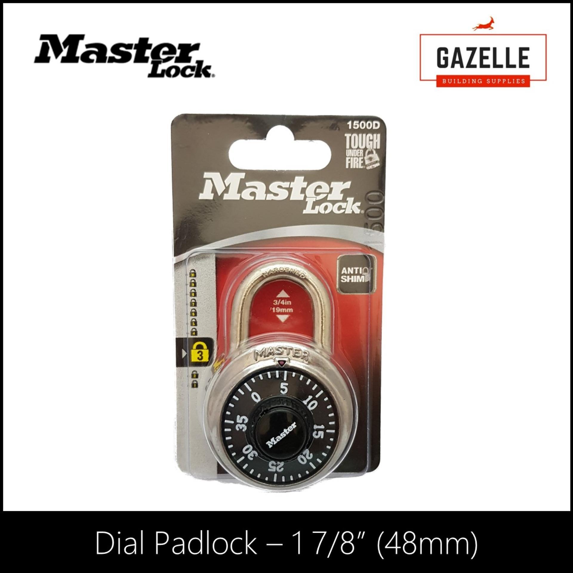 Master Lock Combination Dial Padlock