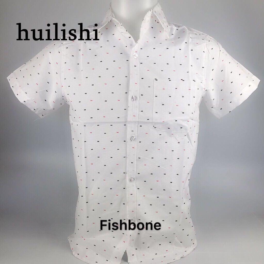 afe1e8028498d Korean Fashion Short Sleeve Printed Shirt For Men For Idp Shop