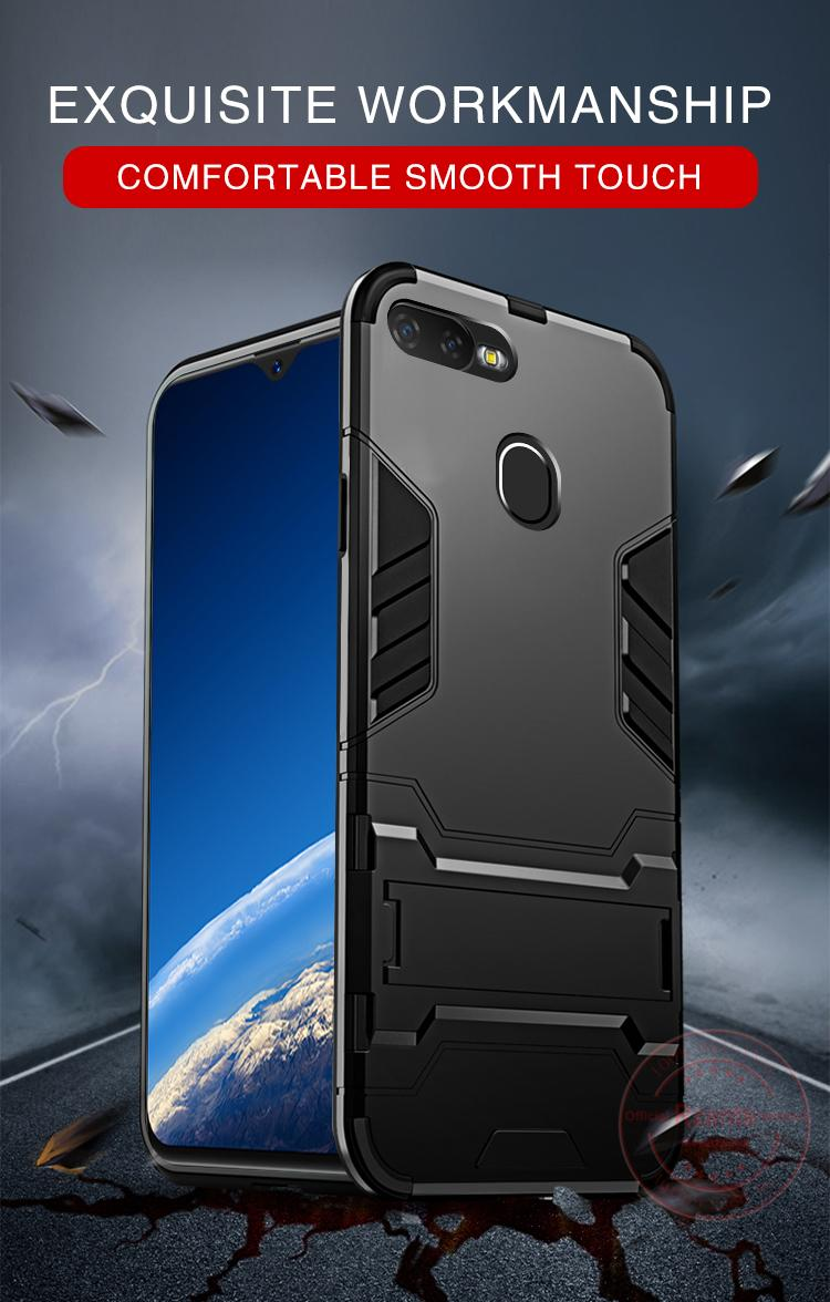 online store 1a2a8 ece3e Rzants For OPPO F9/Realme 2 Pro Hard Case [Armor Series] With Lanyard  Shockproof Kickstand Hard Back Cover Case Phone Casing