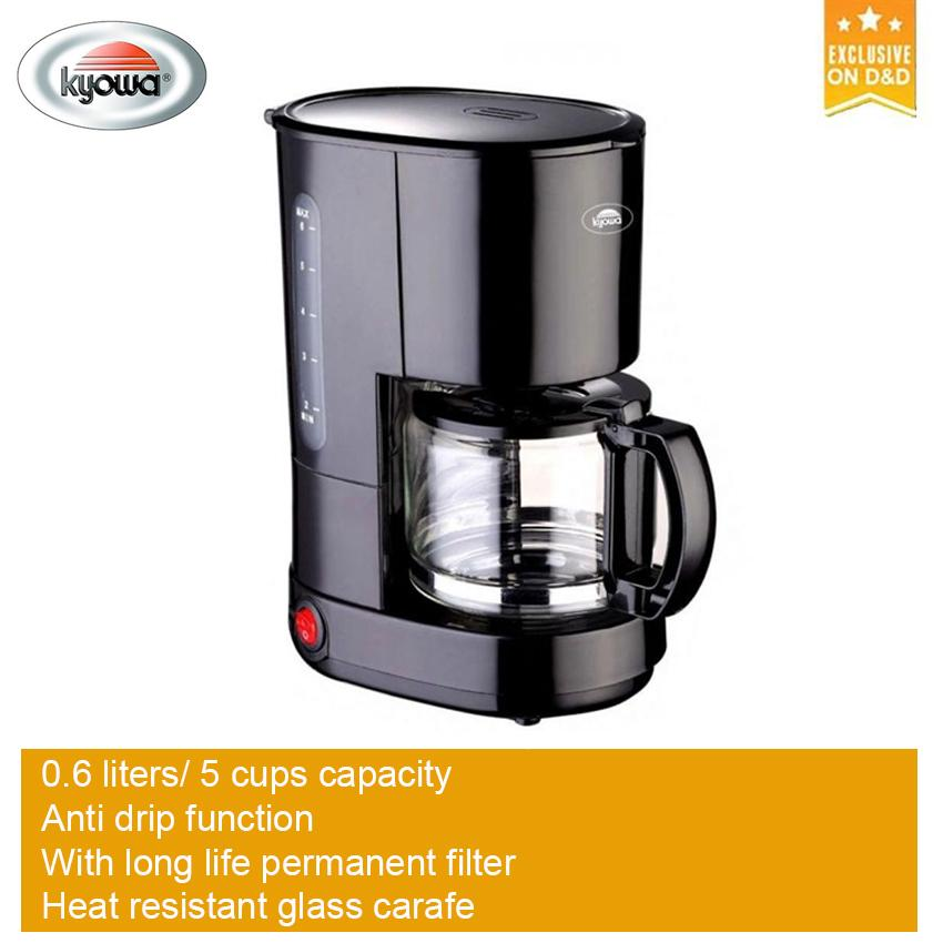 Kyowa Kw Coffee Maker Black