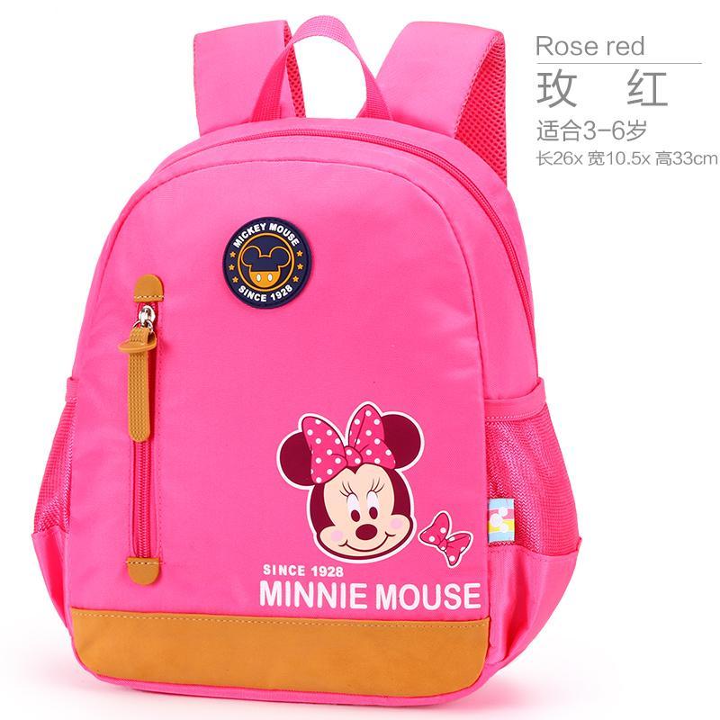 6fbf8d769212 Disney Children s School Bags Kindergarten boy men Girls 3-6 Years Old  Elementary School Class