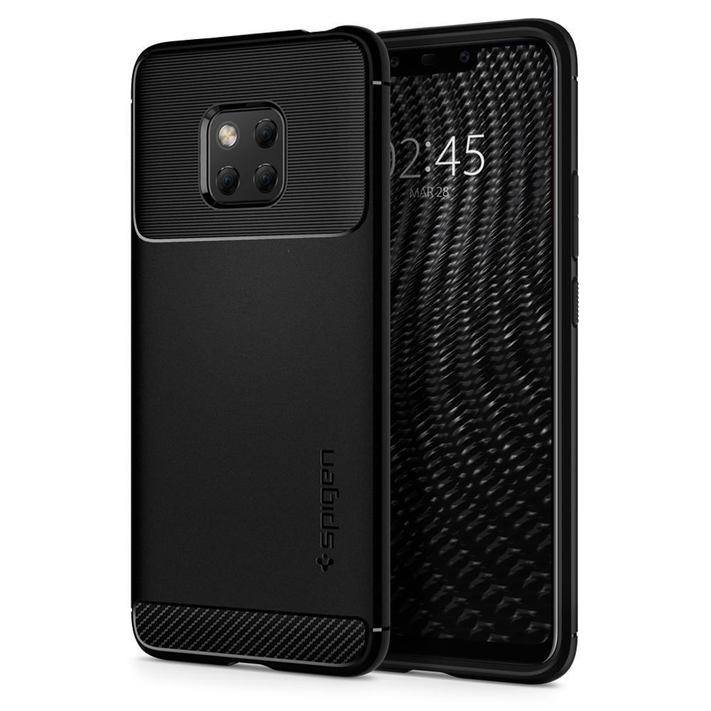 Spigen Huawei Mate 20 Pro Case Rugged Armor Black