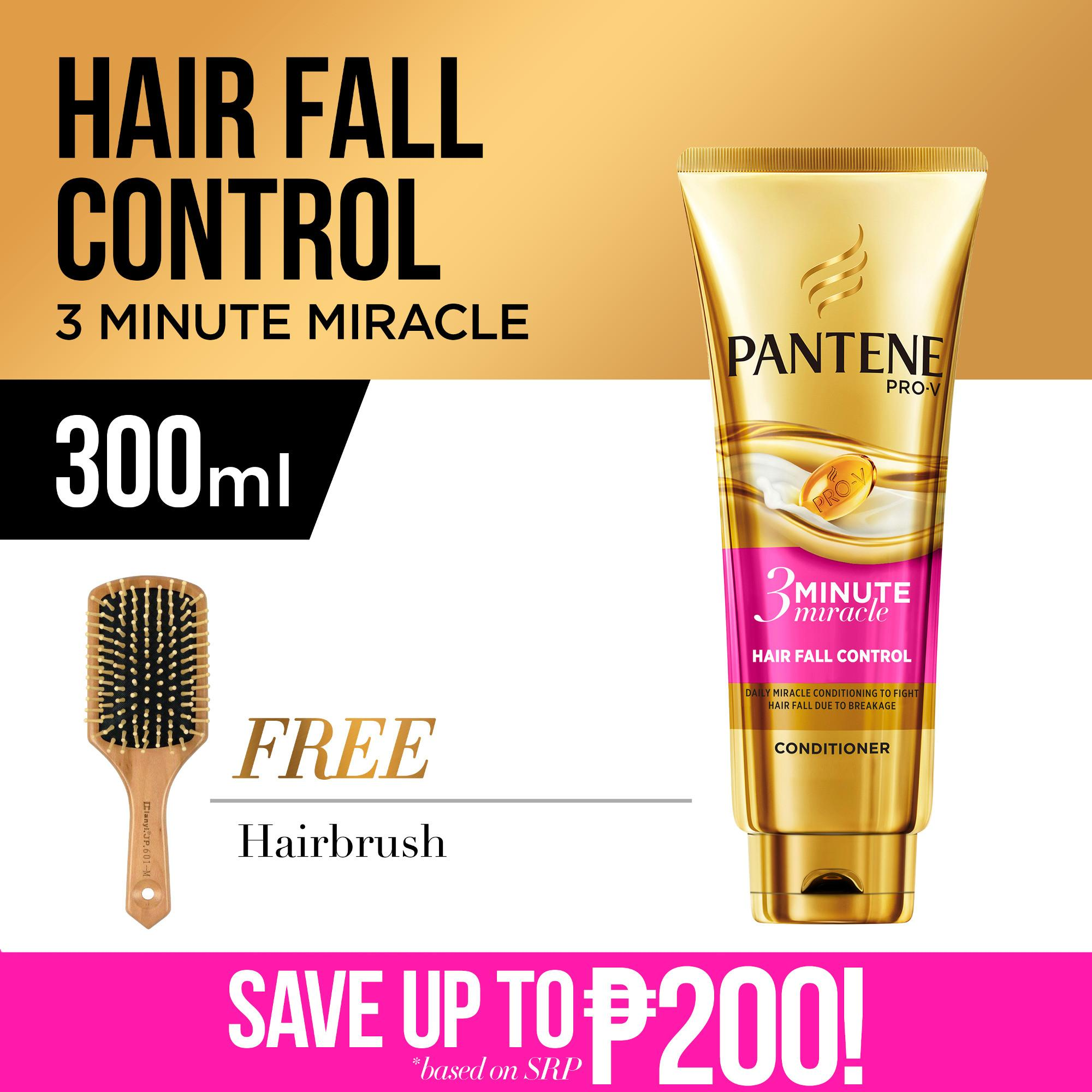 Pantene 3-Minute Miracle Hair Fall Control Conditioner 300mL