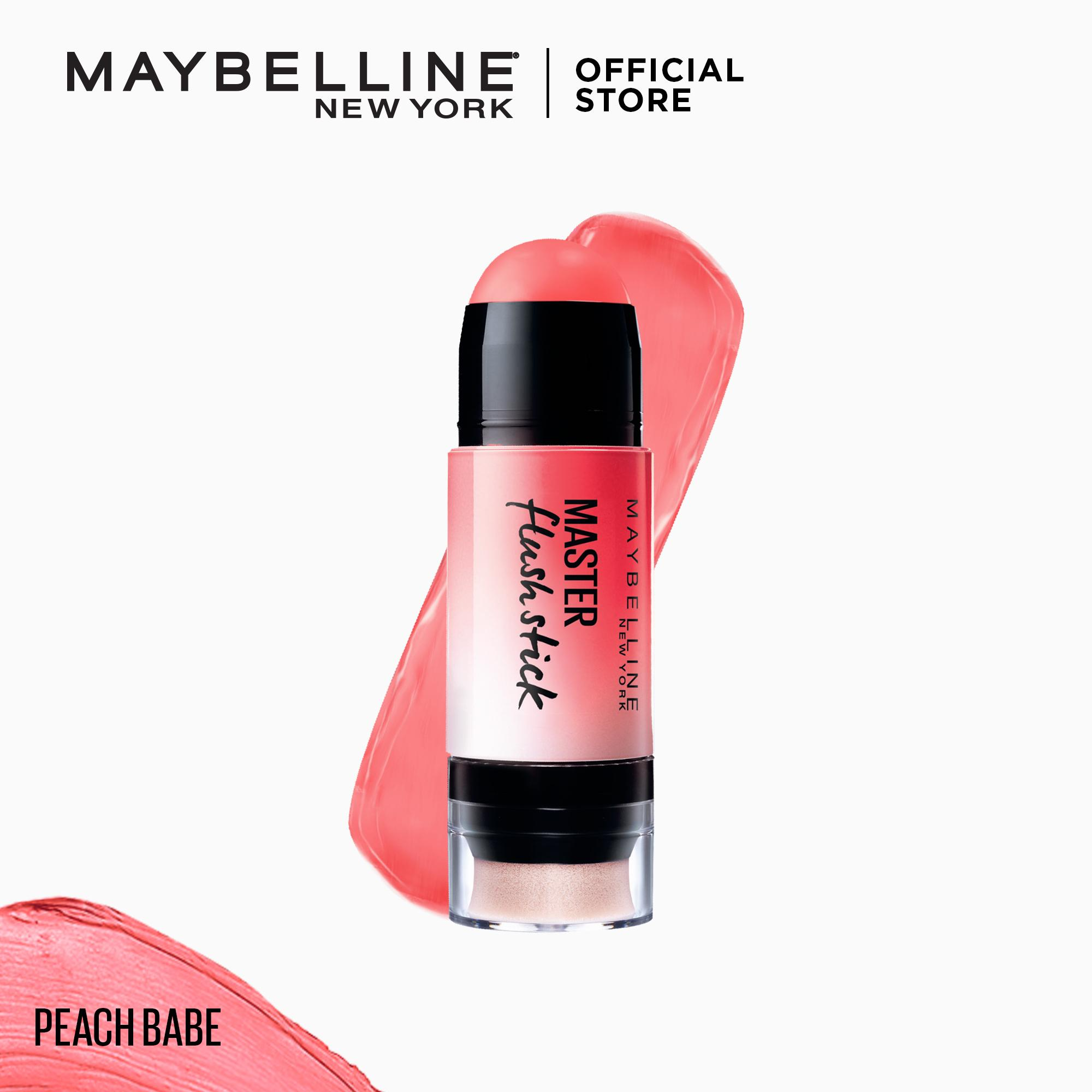 Master Flush Clay Blush Stick - Peach Babe by Maybelline Philippines
