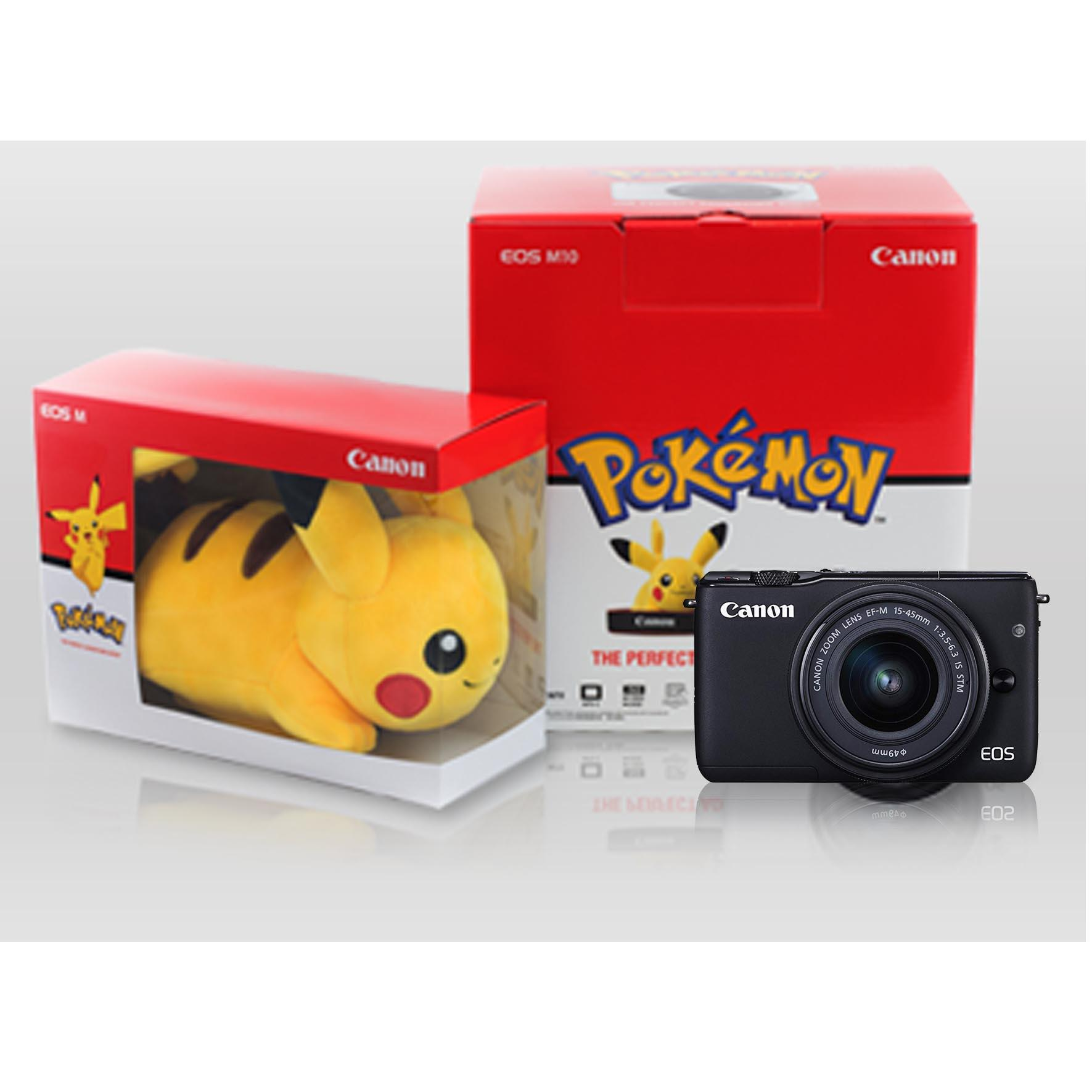 Canon Mirrorless Camera Philippines Dslr For Sale Eos M100 Kit 15 45mm 22mm Kamera White M10 With Pokemon Stuff Black