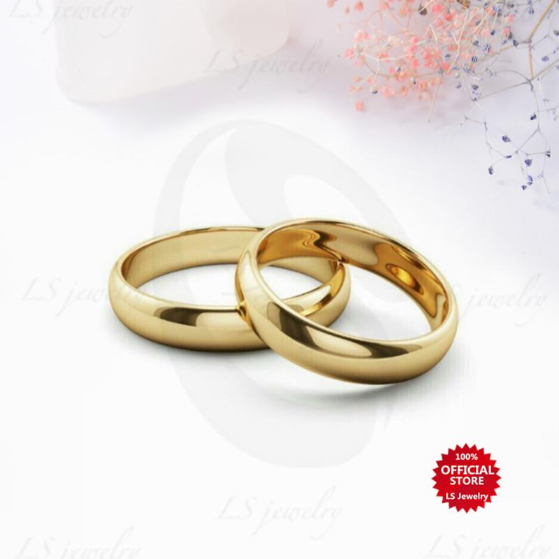 3ba1414a36da LS Jewelry Buy 1 Take 1 stylish simple stainless steel gold-plated Ring  Unisex