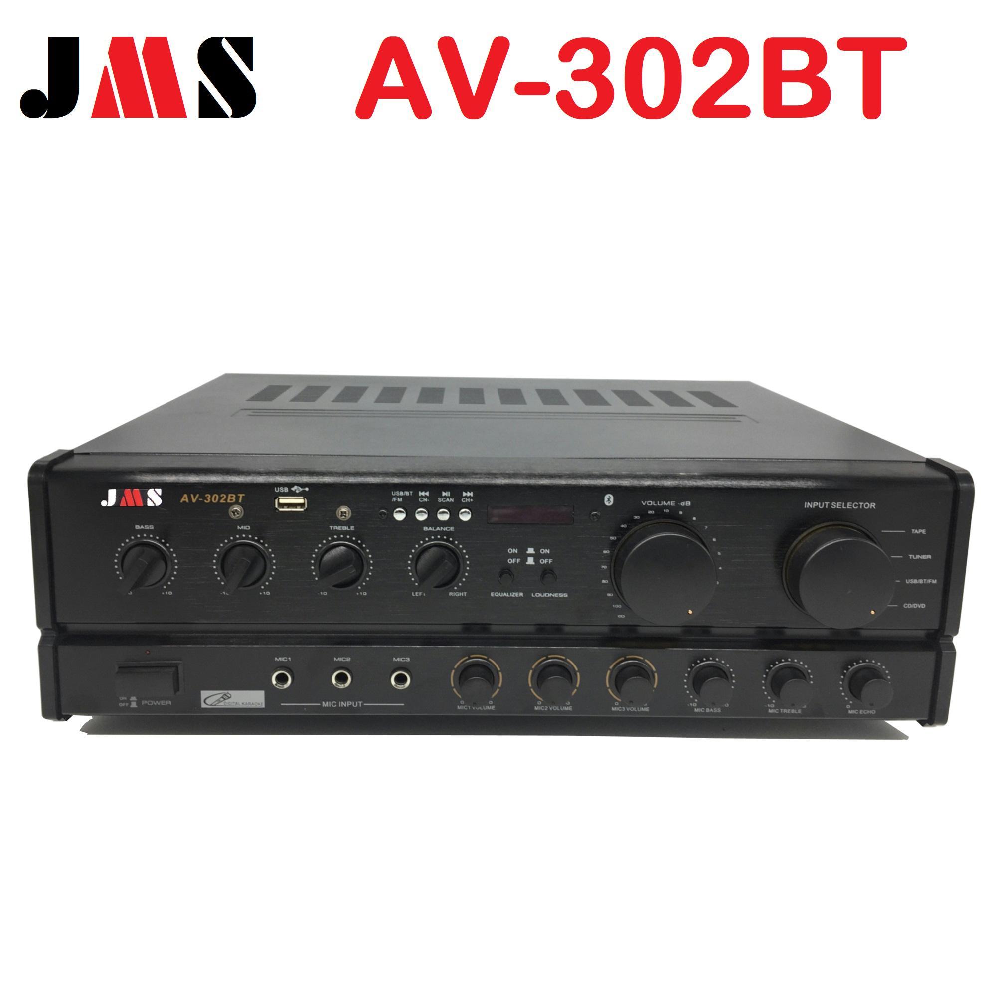 Audio Amplifier For Sale Av Receiver Prices Brands Specs In Enhancement Analog Jms 302 Bt Stereo Karaoke Power