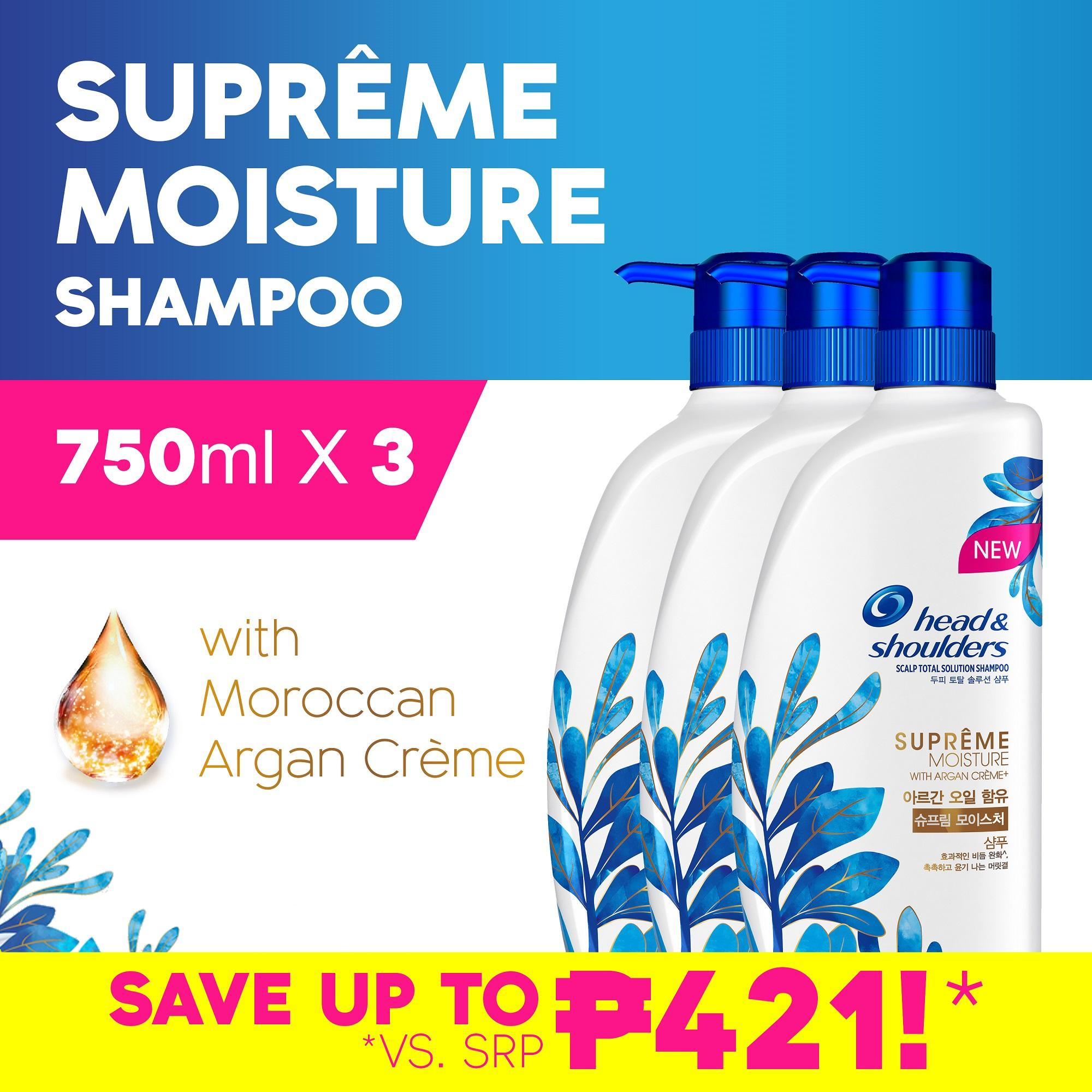 Head Shoulders Philippines Price List Shampoo Samphoo And New Supreme Moisture 750ml