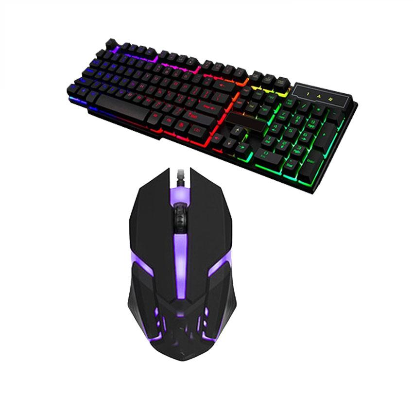 D280 Suspended Keypress usb Gaming Keyboard and Gaming Mouse combo(black)