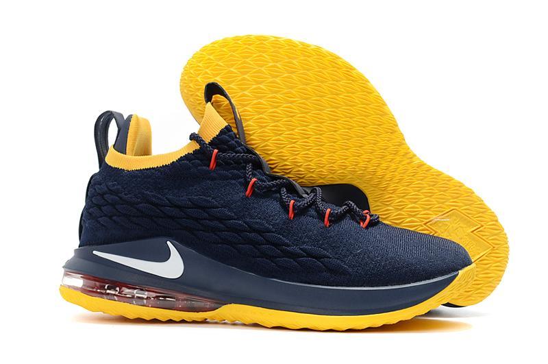 hot sale online 6175d 3b037 ... reduced lebron 15 mid top offical sport shoes mens basketball shoe anti  slip slip resistant skid