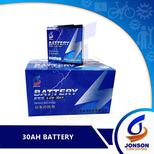 Sealed Lead Battery For Ebike 60v30a (5pcs) By Jonson E-Bike And Spare Parts.