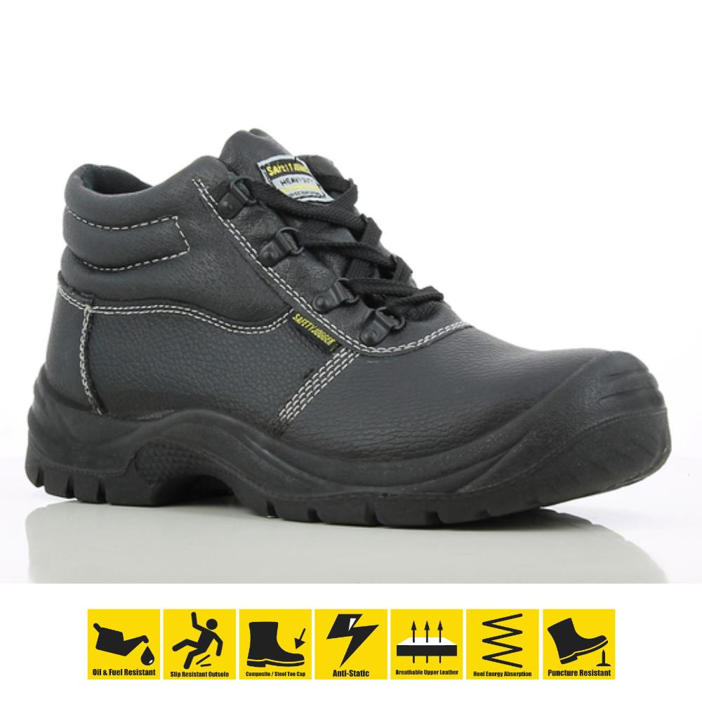 35e90a56c0ef Safety Jogger Safetyboy S1P High Cut Safety Boots Shoes Work Footwear Steel  Toe Oil Resistant Anti
