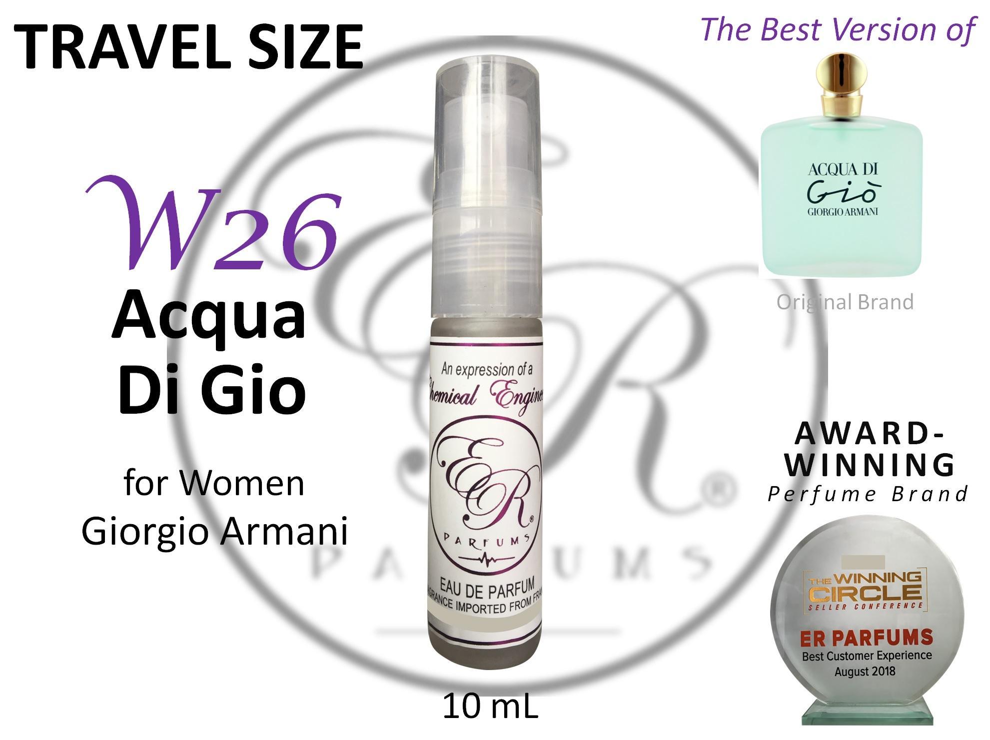 dca3ee97a8 ER PARFUMS W26 Acqua Di Gio for Women by Giorgio Armani 1 piece 10 ml TRAVEL