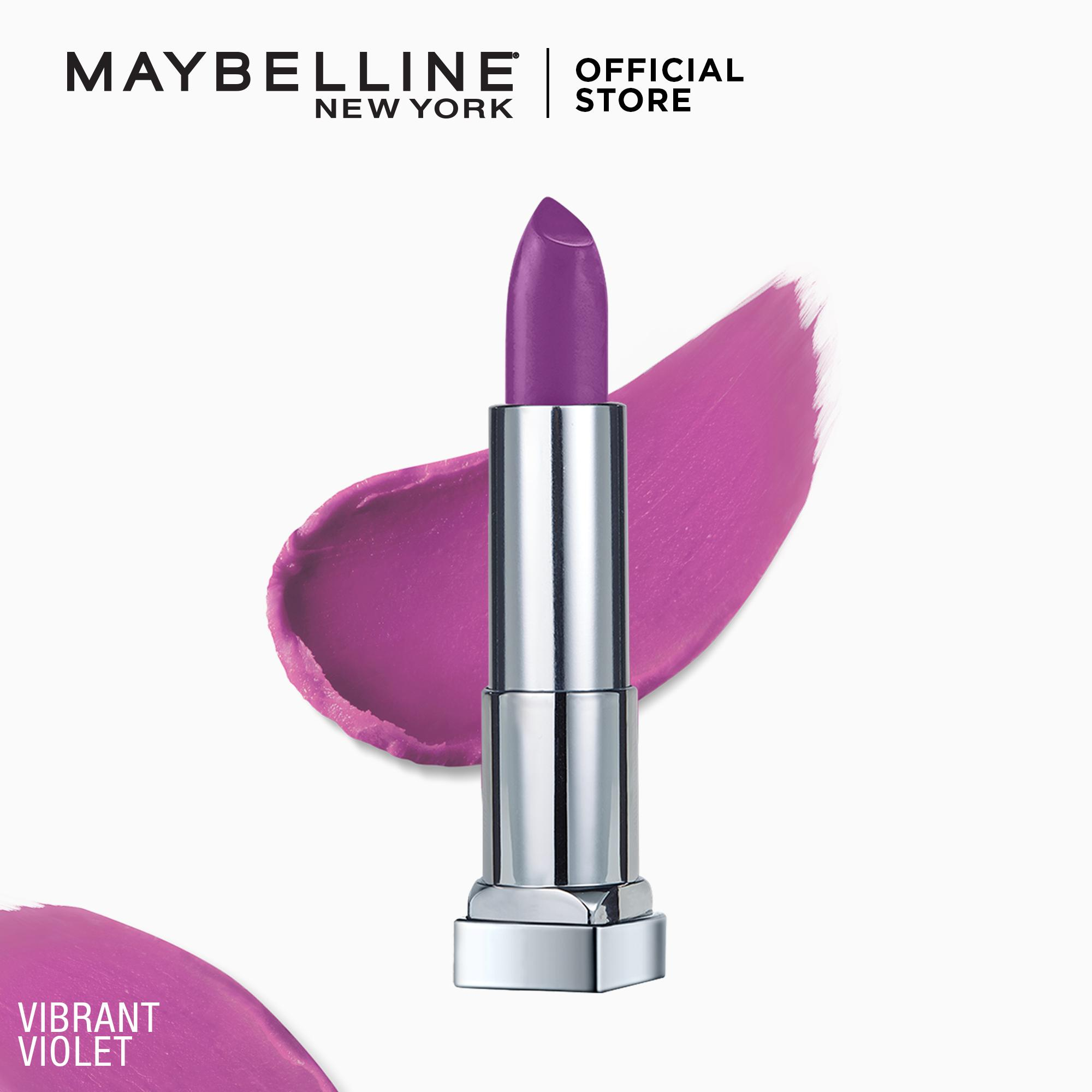 Creamy Matte Lipstick [New York's #1] by Maybelline Color Sensational