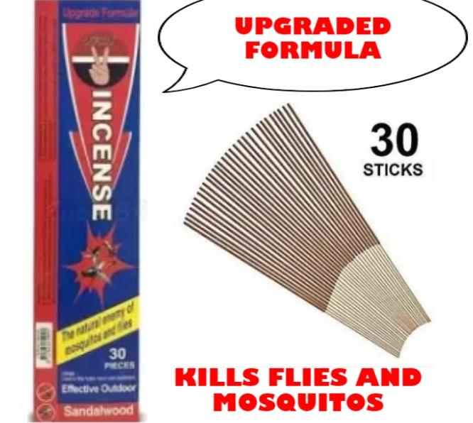 Sandalwood Incense for Flies and Mosquitoes KILLS FLIES AND MOSQUITOS  EFFECTIVE AND ORGANIC