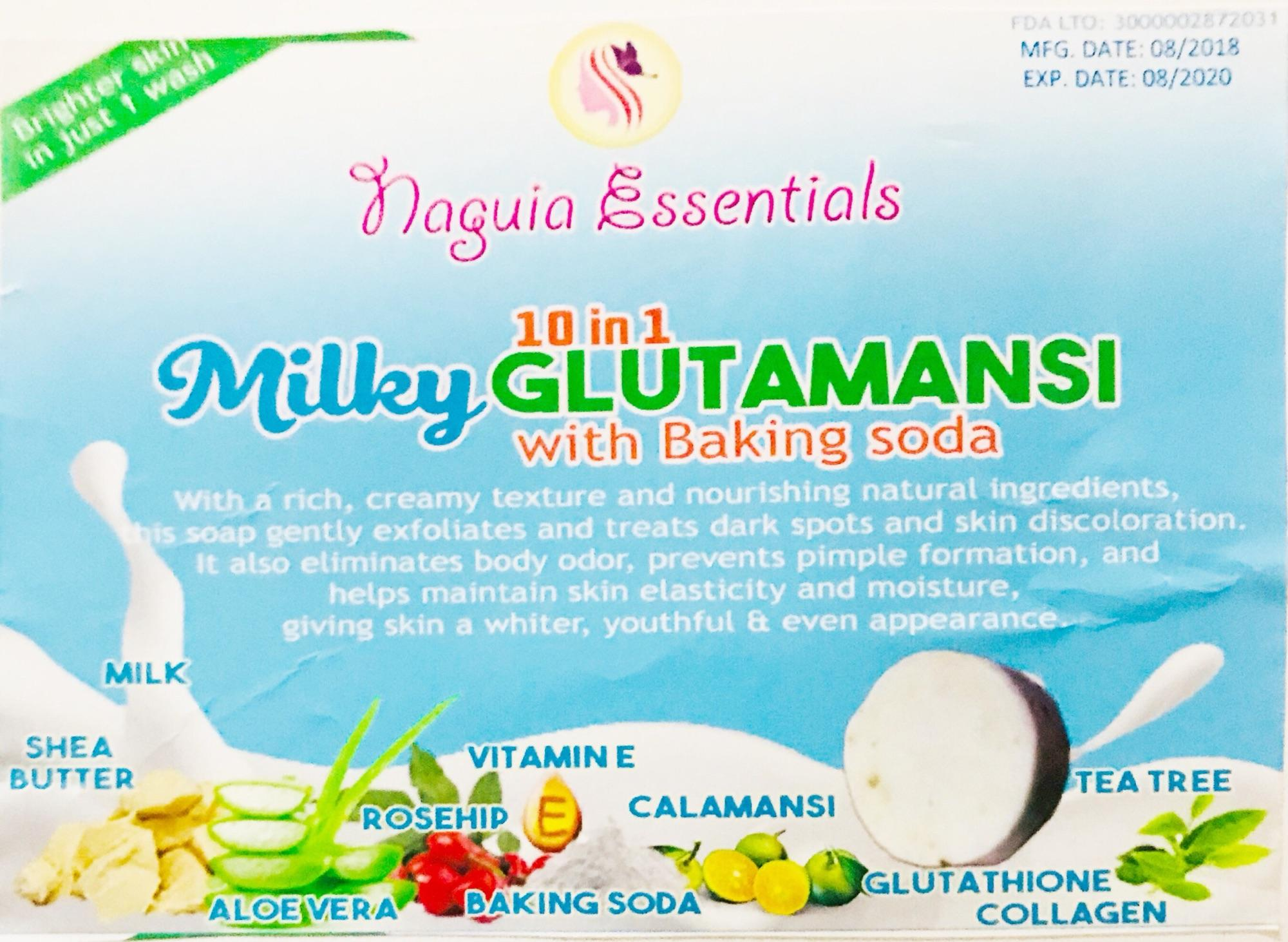 Buy Sell Cheapest 1 Ttake Best Quality Product Deals Prenagen Lactomom Milky Glutamansi With Baking Soda Soap Take 2soaps