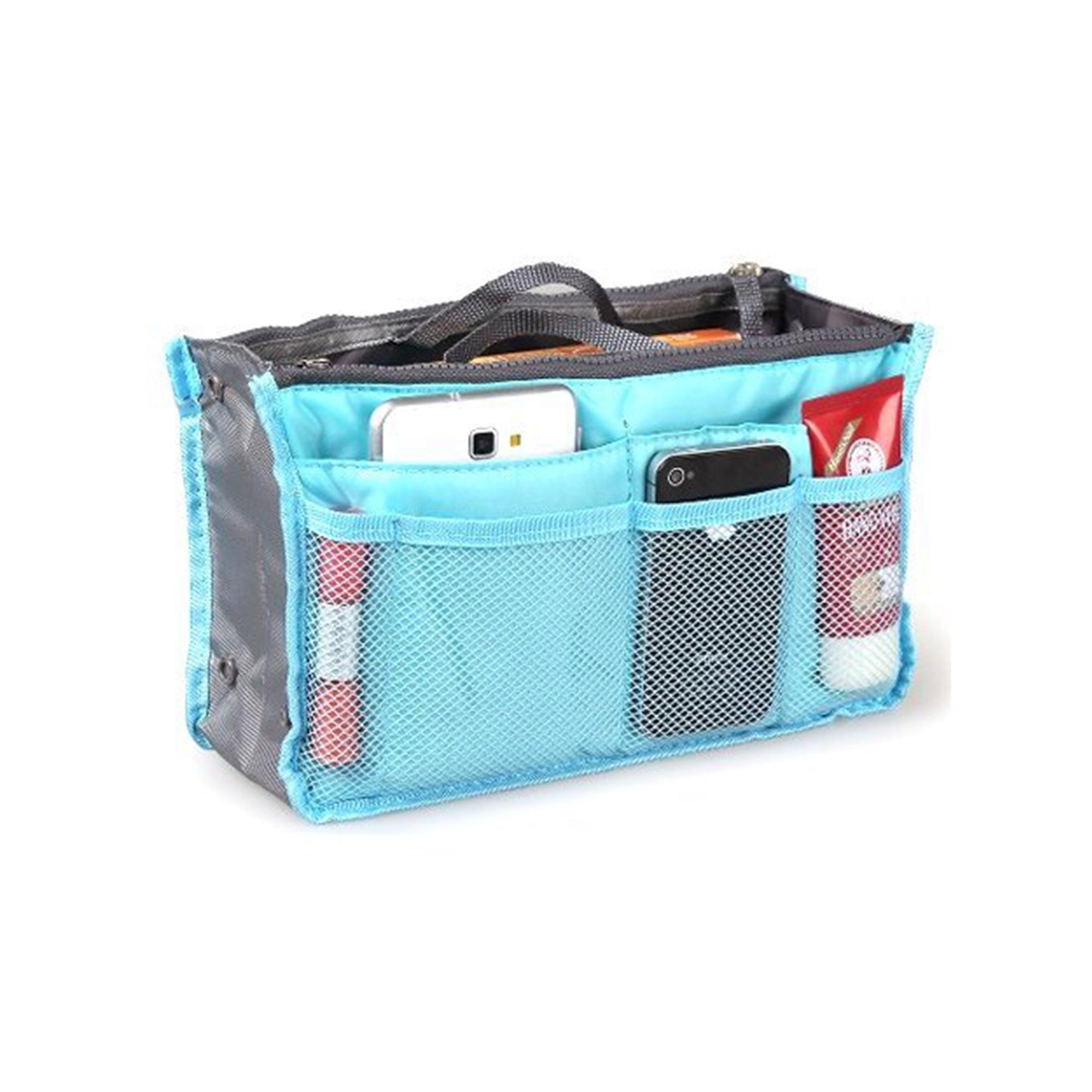 f34db36e68 AMOG Dual Perfect Organizer Bag for Travel Multipocket Handbag Organizer