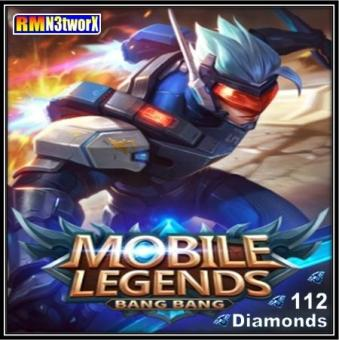 Mobile Legends 112 Diamonds