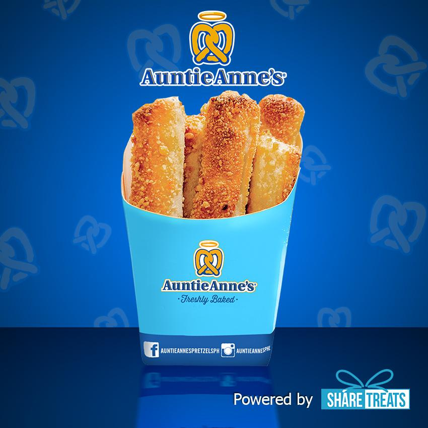 Auntie Annes Cream Cheese Stix Sms Evoucher By Share Treats.