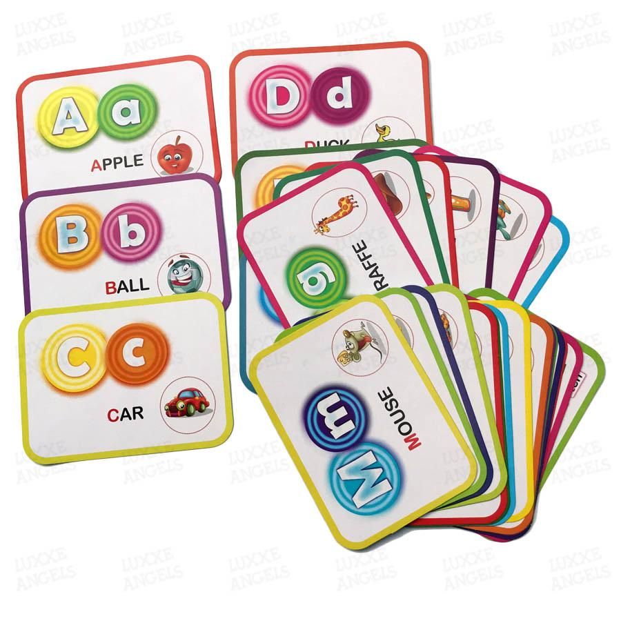 Alphabet Flash Card/Educational Learning Fun Game for Kids/ Toys for  Kids/toys for boys/ toys for girls