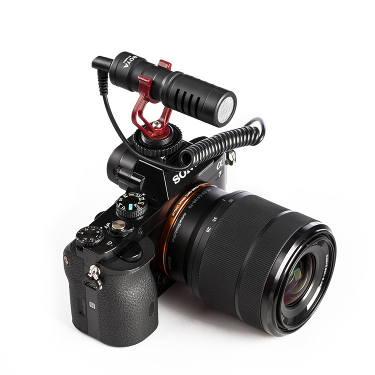 Boya By Mm1 Mm1 Compact On Camera Video Microphone Youtube Vlogging