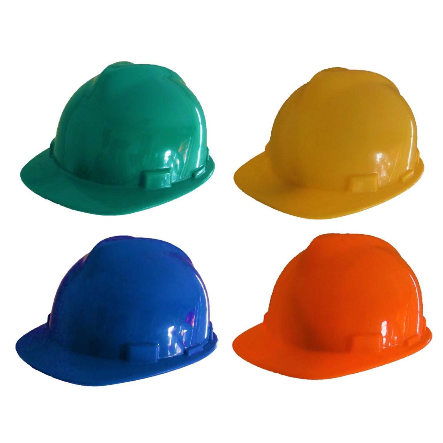 260b823d999 Plastic Construction Hard Hat Safety Helmet - Blue