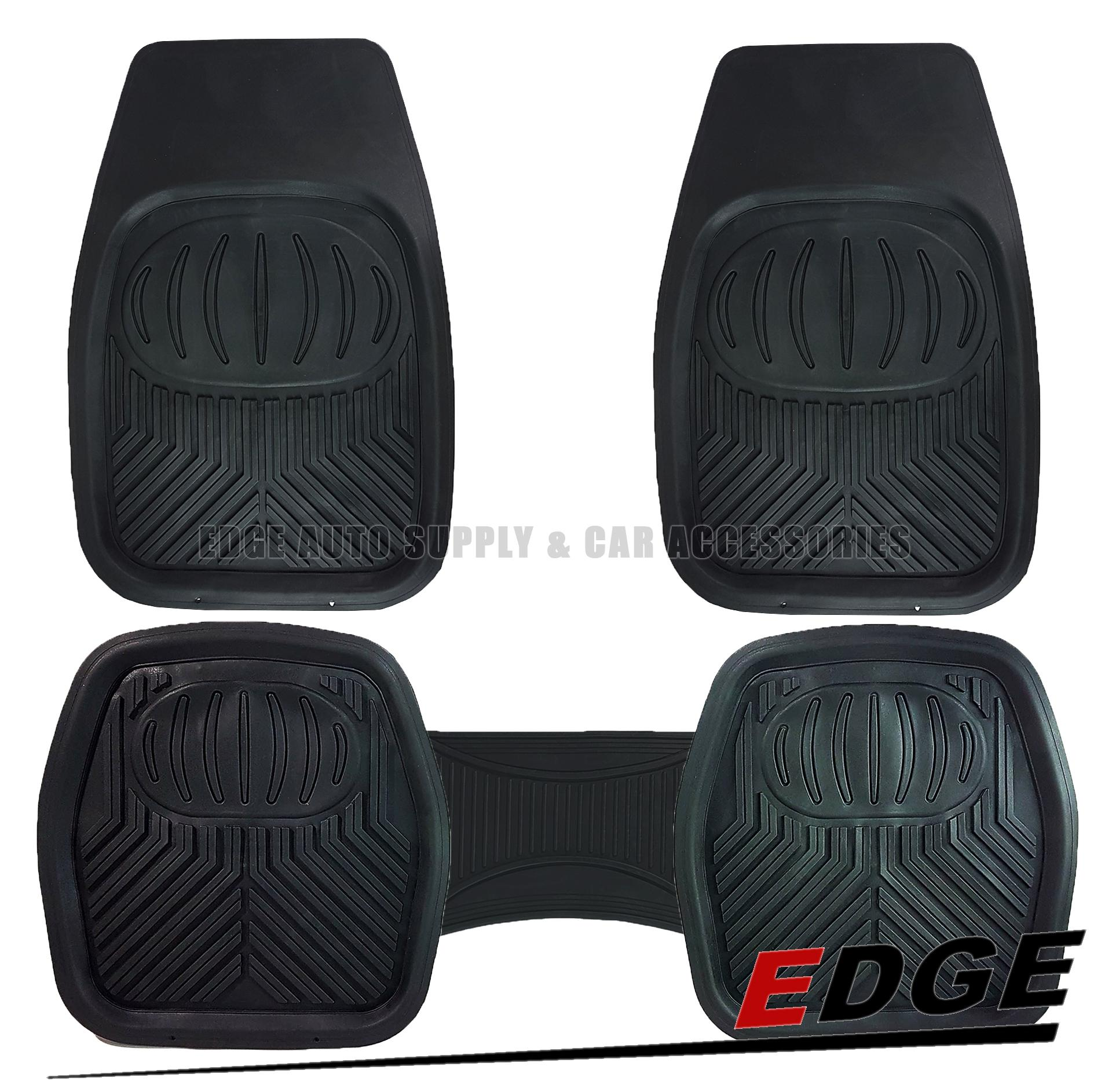 (RUBBER MATTING - UNIVERSAL - DEEP DISH - 5pcs/SET) car mat floor