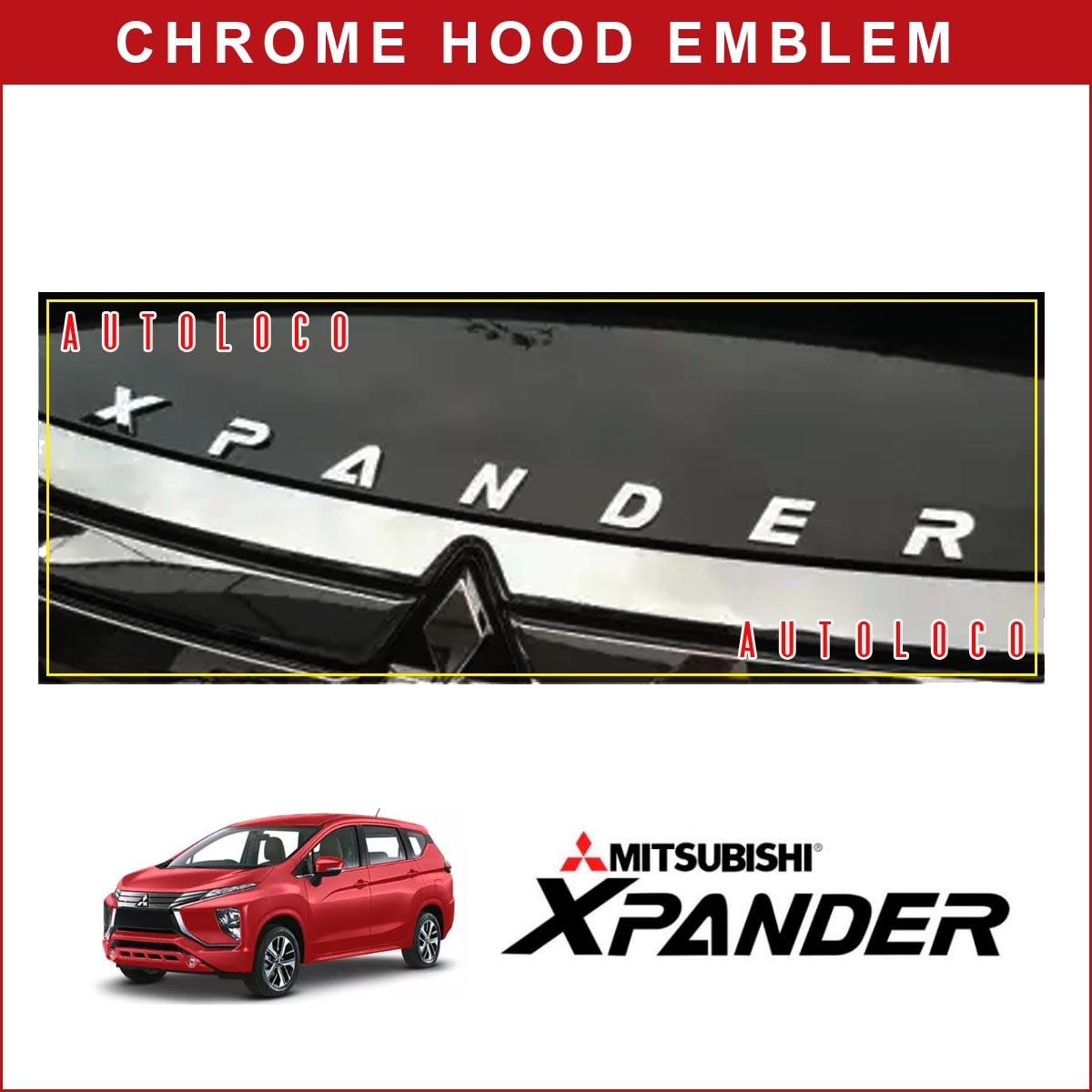 Mitsubishi Xpander (chrome) Hood Emblem By Autoloco.