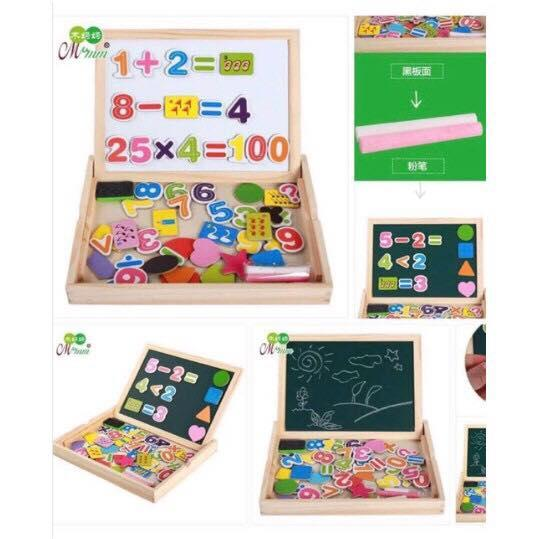 JE double sided board with magnets