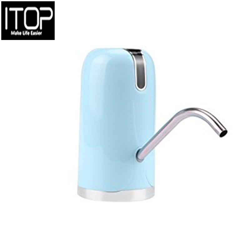 Itop Automatic Electric Drinking Water Pump Dispenser Rechargeable Drinking Bottle Auto Switch Pump Easy Operation Gift By Itop.