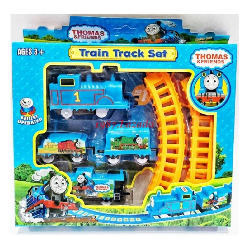 1987-Toy Train Track Play Set By 1987.