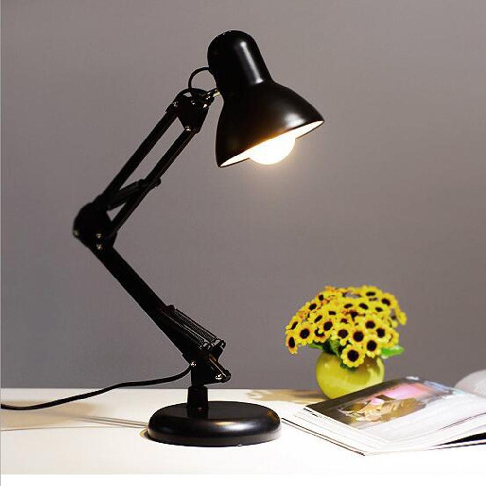Astounding Metal Adjustable Long Swing Arm Desk Lamp Led Table Lamp Office Led Reading Led Desk Table Lamp Download Free Architecture Designs Aeocymadebymaigaardcom