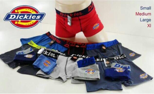 Cotton Boxer Brief Dickies Underwear (6pcs Per Pack) By Zhian Shop.