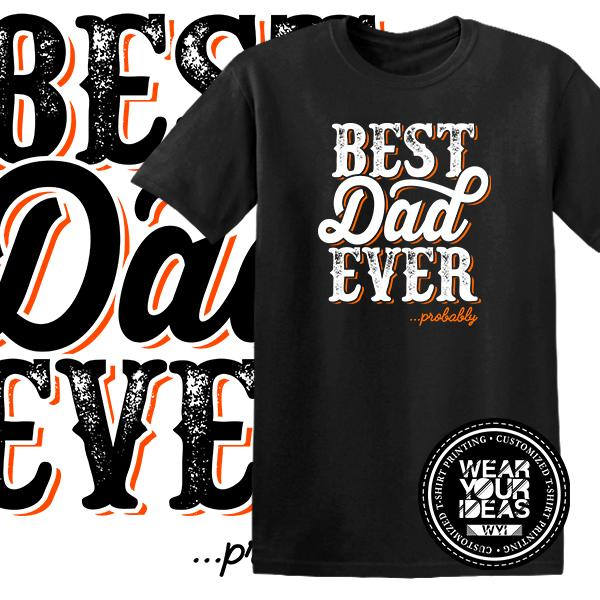 5b38a170 ... Father Shirt Men DTG Printed WEAR YOUR IDEAS WYI (Black)PHP699. PHP 699