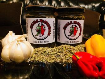 Habanero Garlic & Herb Chili Sauce Jr.