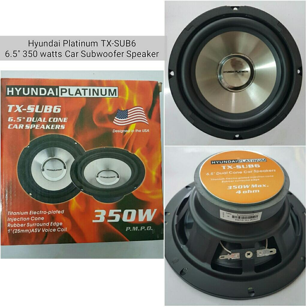 Car Speakers For Sale Speaker Cars Online Brands Prices Coil Device And Using On Wiring Dual Voice Hyundai Platinum 65 350 Watts Cone 4 Ohms